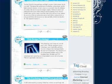 Wordpress Fully Custom theme and plugin