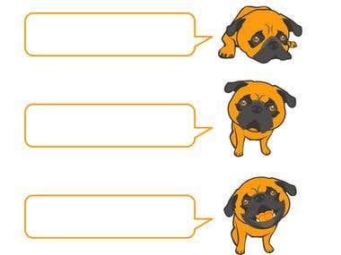 Pet the Pug icons