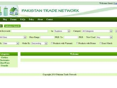 PAKISTAN TRADE NETWORK
