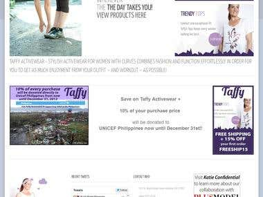 Shop Taffy - Magento E-Commmerce site