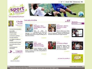 Sport pour tous en Deux-Sèvres
