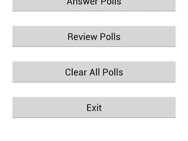 Polling App