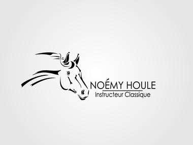 Logo created for Noemy Houle