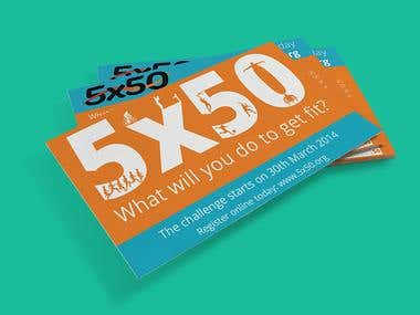 5x50 Business Card 2014