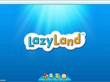 Lazy Land- Facebook Game Application Translation