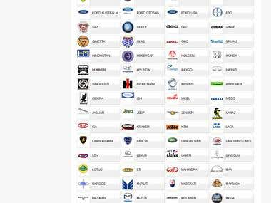 Complete web shop using TecDoc database