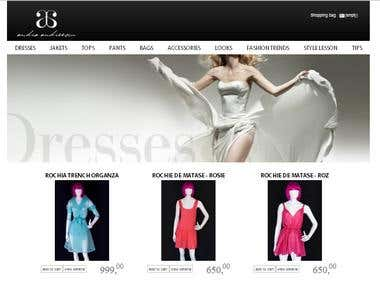 http://andraandreescu.com/ e-commerce website