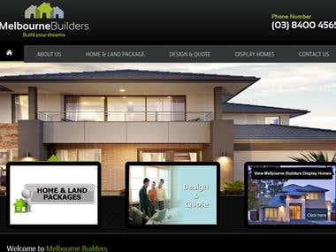 Melbourne Builders Website