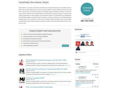 Wordpress Corporate Site Design