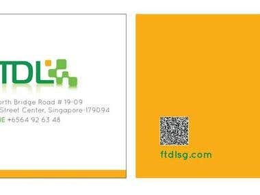 FTDL Business Card