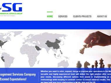 ICSG Business website
