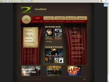 Cinema Hall website