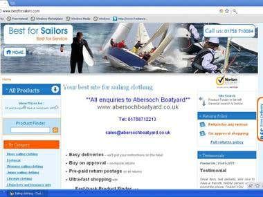 sailing clothing site