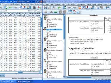 Steam sterilization survey analysis