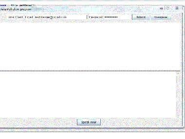 Java mail client