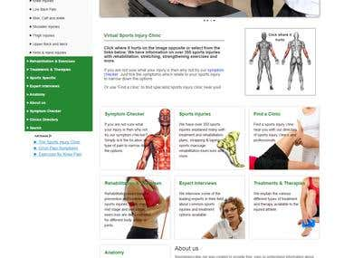 Joomla - SportsInjuryClinic (Responsive)