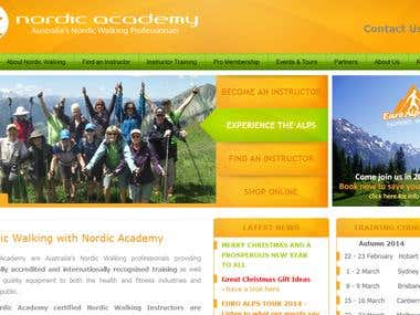 Academy Website