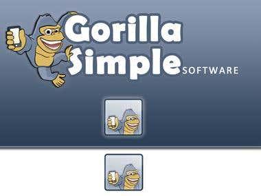 Gorilla Simple software logo