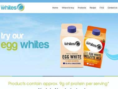 Egg Whites Website