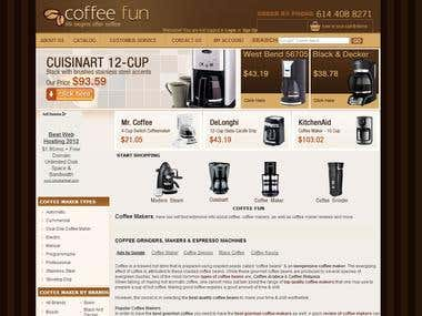 Coffeefun Website