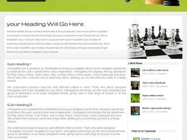 Web site designs and Development (Checkmate)