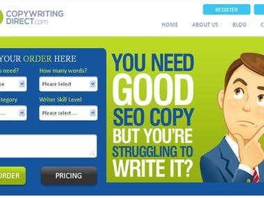 SEOCopywriting Direct website