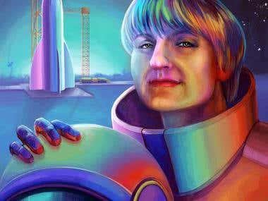 Space portrait