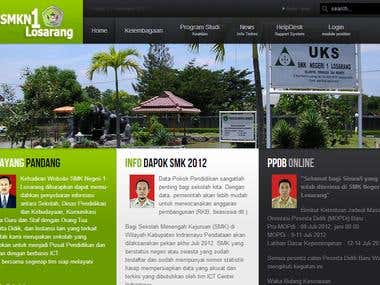 School Website - SMK Negeri 1 Losarang