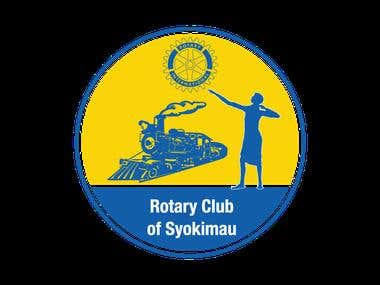 Rotary Club of Syokimau Logo