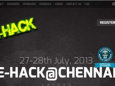 CTF for e-Hack (Guinness Record Event)