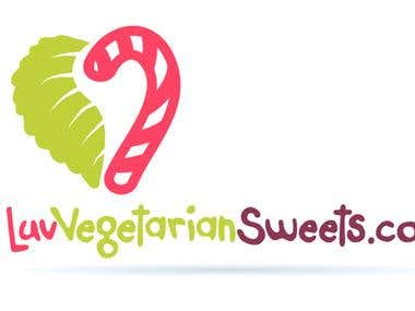 Logo for LuvVegetarianSweets.com