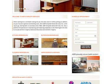 Home Improvement Website