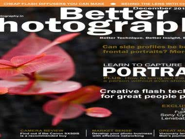 Photoshop Magzine cover