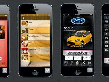 App Mobile Planet Portfolio