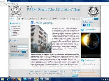 Website for Secondary School