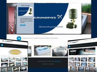 Website Design and development for Aquasol