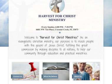 Christ Harvest All
