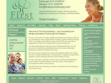 First Psychotherapy - Edinburgh & Glasgow