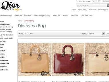 Dior's E-Commerce Website