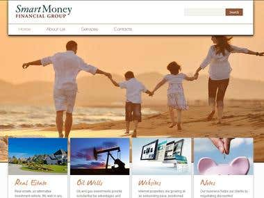 Smart Money Wordpress Website