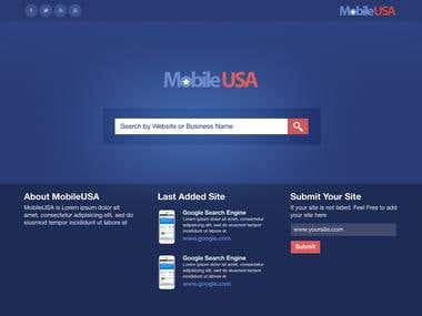 Mobile USA Search Engine