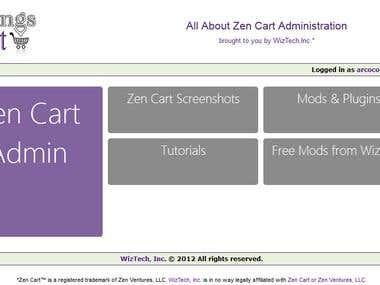 All Things Zen Cart