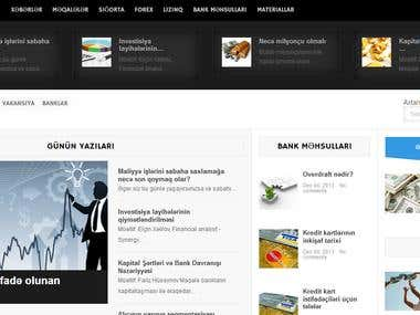Bankerz Wordpress Portal