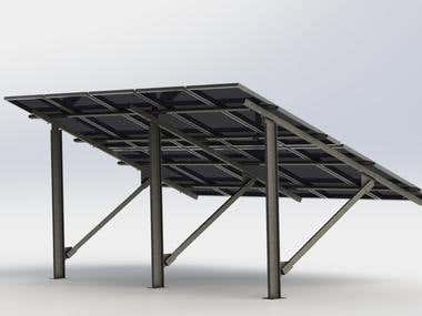 Steel Structure for Photovoltaic Systems