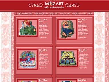 Website Mozart Cakes