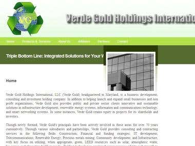 Verde Gold Holdings