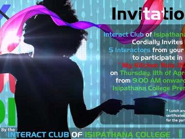 Invitation for an Event