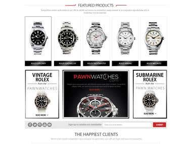 Pawn watches