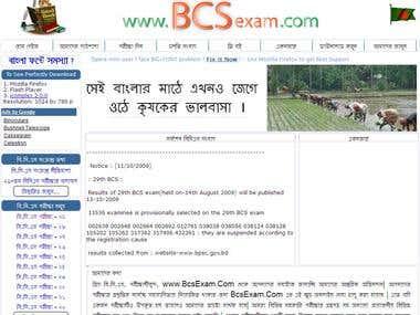 Online Preparation for BCS Exam - Bangladesh