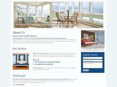 A Cleaner Noosa Website design